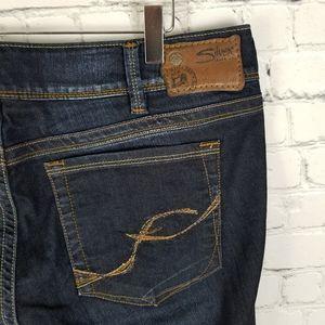 SILVER   Suki dark wash boot cut jeans